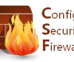 مقال : اعداد الجدار الناري CSF لحماية خوادم لينكس