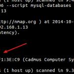 مقال : تنفيذ عملية Auditing Databases باستخدام اداة nmap